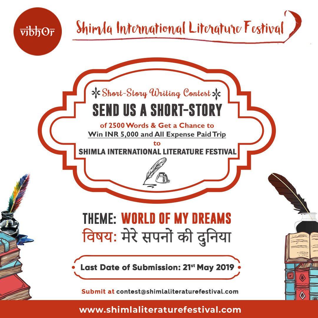 Short Story Writing Contest – Shimla International Literature Festival